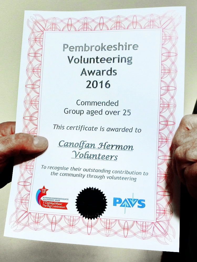 Volunteer Awards 2016