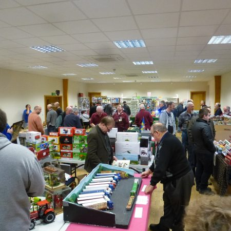 model Show 2017 - busy main hall, packed with stands and visitors enjoying the show