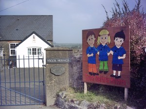 Ysgol Hermon - local village school (until 2006)