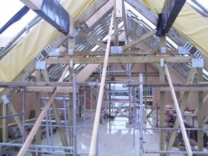 The internal wooden beams are a fantastic feature