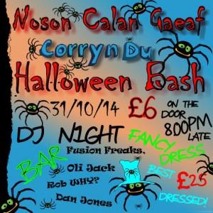 Nos Canol Gaeaf - Halloween Bash