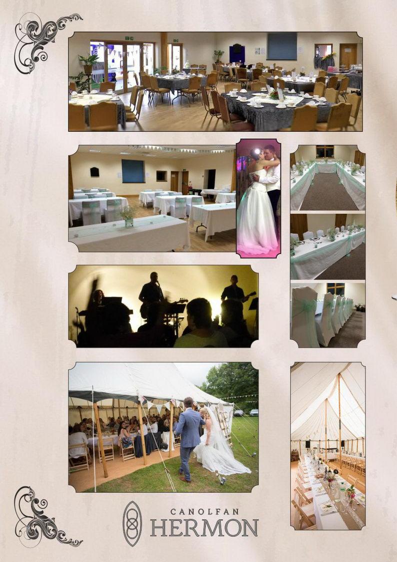 Weddings at Canolfan Hermon ~ Priodasau yn Canolfan Hermon ~ a look inside