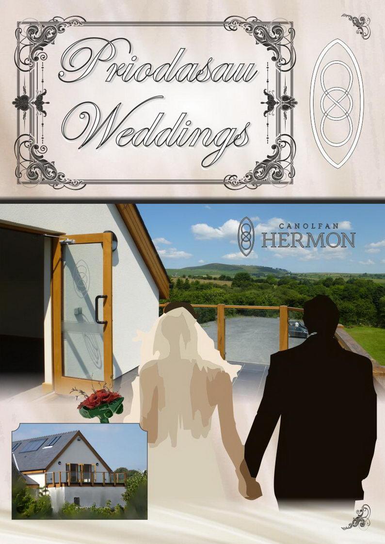 Weddings at Canolfan Hermon ~ Priodasau yn Canolfan Hermon