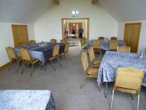 The Brynach Conference Room  looking toward offices & Glôg doors.
