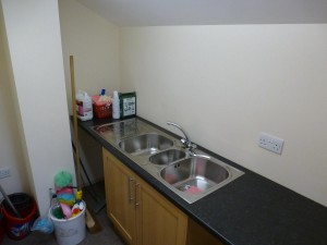Kitchenette on first floor
